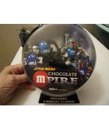 M&M Star Wars Chocolate Mpire Boba Fett, Han Solo Figures New - $30.16