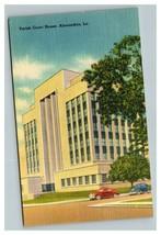 Vintage 1940's Postcard Parish Courthouse Alexandria Louisiana - Antique... - $15.17