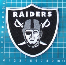 "OAKLAND RAIDERS FOOTBALL NFL SUPERBOWL 4"" LOGO PATCH EMBROIDERED JERSEY - $16.00"