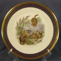 Eastern Chipmunks Lenox Edward Boehm Woodland Wildlife Decorative Plate ... - $49.95