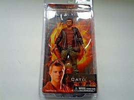 the hunger games  movie book Cato figure doll 2012 NOS reel toys - $19.79