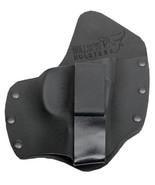 Ruger SR9 / SR40 Holster LEFT - IWB Kydex & Leather Hybrid - Shirt Tucka... - $24.00