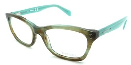 Diesel Rx Eyeglasses Frames DL5073 086 53-17-140 Light Green Havana Aqua... - $54.85