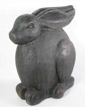 """14.5"""" Large Brown Sitting Rabbit Figurine Indoor Outdoor Decor - $59.35"""