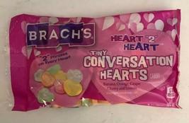 "Brach's Tiny Conversation Hearts Candy-Heart ""2""Heart-U Will Receive 1ea 7oz Bag - $7.87"