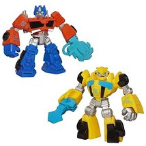 Transformers Rescue Bots Optimus Prime & Bumblebee - $12.82
