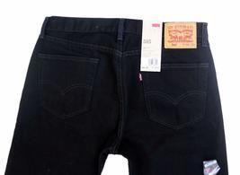 NEW LEVI'S STRAUSS 505 MEN'S ORIGINAL REGULAR FIT BLACK JEANS PANTS 505-0260 image 6