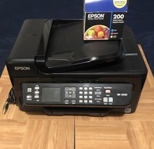 EPSON WorkForce All-In-One Inkjet Printer WF-2540 with Ink - $128.69