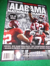 Great Magazine Commemorating the Tide's ALABAMA National CHAMPS 13th Title - $9.90