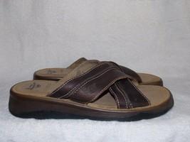Dr Martens Slip On Open Toe Criss Cross Sandals 6 For Women Used - $29.69