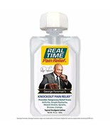 Real Time Pain Relief George Foreman's Knockout Formula, 1 Oz GoPak - $3.99