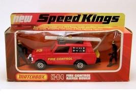 "MATCHBOX SPEED KINGS MODEL No.K-64 "" RANGE ROVER"" FIRE CONTROL - $59.40"