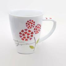 Starbucks I Love You Hearts & Flower Coffee Mug 12 oz. 2007 - $11.64