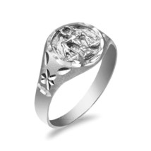 Sterling Silver Libra Ladies Zodiac Sign Ring - £19.00 GBP