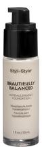 Styli-Style Beautifully Balanced, Hypoallergenic Foundation - Porcelain  - $14.95