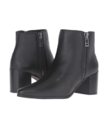 NEW CHARLES DAVID BLACK  LEATHER  BOOTS SIZE 7.5 SIZE 8 SIZE 8.5 SIZE 9.... - $54.99