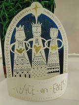 NIB A Wish for Peace Hallmark Keepsake Laser Cut Christmas Ornament 1999... - $8.79