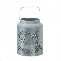 Merry Galvanized Led Candle Lantern - $34.81