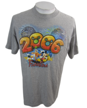 Disney T Shirt Unisex 2006 Walt Disney World Florida Mickey Mouse charac... - $12.73
