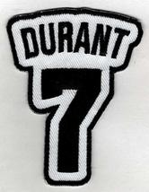KEVIN DURANT No. 7 Patch - Brooklyn Basketball Jersey Number Embroidered... - $6.88