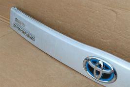 2010-15 XW30 Prius Trunk Lift Gate Handle Garnish Trim Panel Tag Light Cover image 6