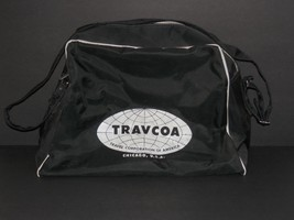 Vintage Travcoa Chicago Airline Style Carry On ... - $19.78