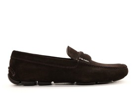 7 Driver On Loafers Prada Size Brown Slip NIB Suede w6t0xXTq