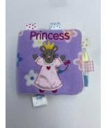 Taggies First Princess Book Soft Plush Fleece Cloth Mouse Kitty Cat Bunn... - $8.99