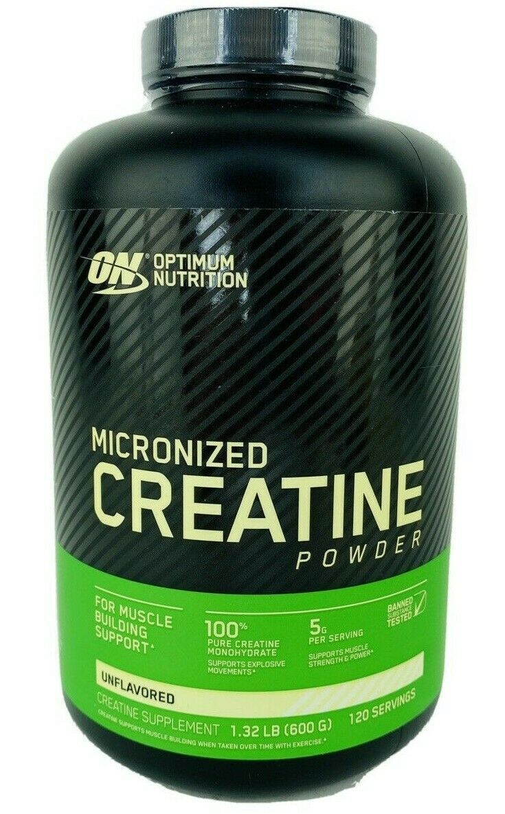 Micronized Creatine Powder Unflavored 1.32 lb Build Muscle Optimum Nutrition ON - $28.45