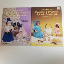 Lot of Jessie Abularach Crochet Leaflets Volumes 3 and 7 - $10.38