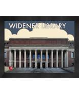 """Harvard University """"Widener Library"""" 13x16 Art Deco Framed Print  - $39.95"""