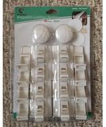 Magnifeko Magnetic Safety Cabinet Door & Drawer Locks 8 Locks+2 Keys - M... - $19.50