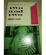 two and two alison reed 60s pulp illustrated - $28.99
