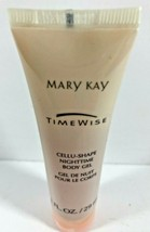 NEW MARY KAY TIMEWISE Cellu-Shape Nightime Body Gel 1 fl oz - $9.89