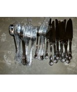 21pcs WALLACE CONTINENTAL CAMDEN Stainless 18/10 Fork Knife Spoon Mixed Lot - $100.00