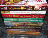 Harlequin Historical Medieval lot of 8 paperbacks assorted authors