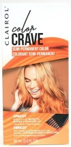 Clairol Color Crave Apricot Bold Semi Perm Dye For Brown Blonde Bleached... - $11.99