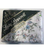 Vintage Lady Pepperell Percale 4 Piece Sheets Full Set Britta Fulsets - $46.74