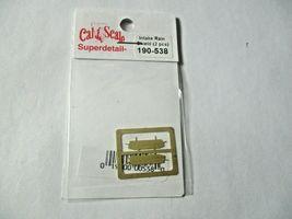 Cal Cal Scale # 190-538 Intake Rain Shield 2 Pack HO Scale image 3