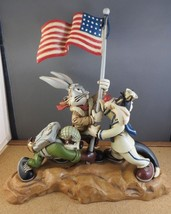 Extremely Rare! Looney Tunes Bugs Bunny Taz Iwo Jima Victory Big Figurin... - $1,188.00
