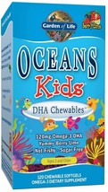 Garden of Life Oceans Kids DHA Chewables, Berry Blast, 120 ct - $60.67