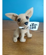 """VINTAGE Taco Bell Dog Plush w/ Free Tacos Sign In Mouth TALKS """"Here Liza... - $6.88"""