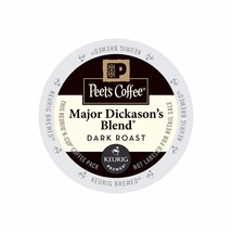 Peet's Coffee Major Dickason's Blend Coffee, 88 count K cups, FREE SHIPP... - $68.99