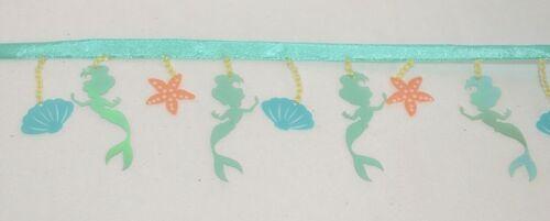 Simplicity 18686581507 Disney Princess Ariel Beaded Fringe Trim 12 Yards