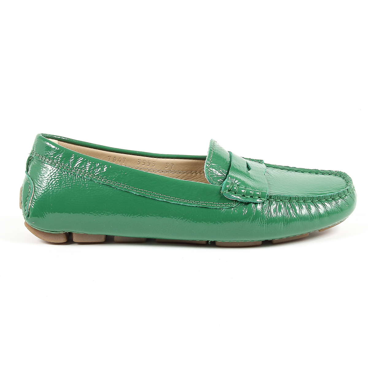Primary image for V 1969 Italia Womens Loafer Green AMALFI