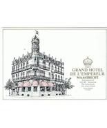 Maastricht Holland  Postcard Grand Hotel De L'Empereur Best Western - $2.84