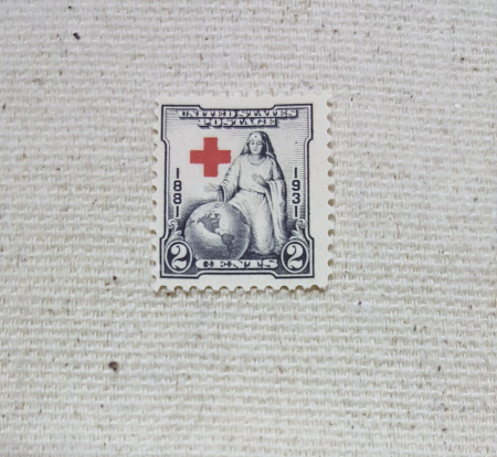 Set of 5 Mint Condition US postage stamps honoring the American Red Cross