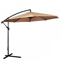 New 10' Patio Umbrella Offset Hanging Umbrella ... - $97.50