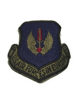 1980's Original U.S. AIR FORCES IN EUROPE  Air Force USAF Subdued Cut Edge PATCH - $3.95