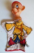"""VTG 1960's Walt Disney Character Dopey by Gund Hand Puppet Vinyl Head 11"""" - $34.65"""